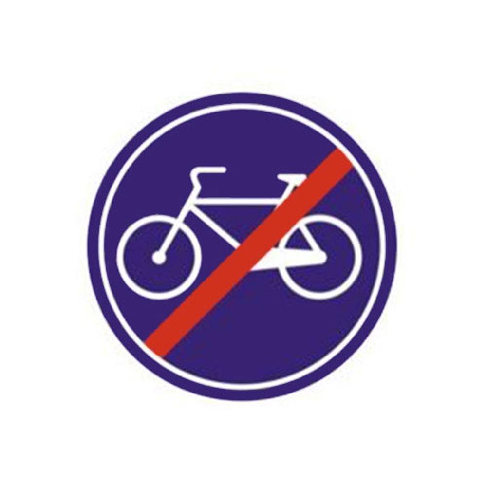 Mecburi Bisiklet Yolu Sonu